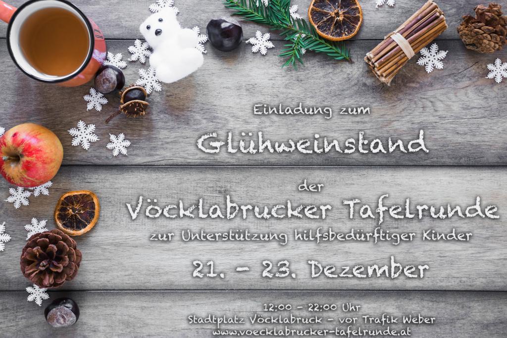 VTR Christkindlmarkt Einladung 2018